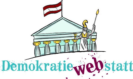 Logo der DemokratieWEBstatt © Parlamentsdirektion